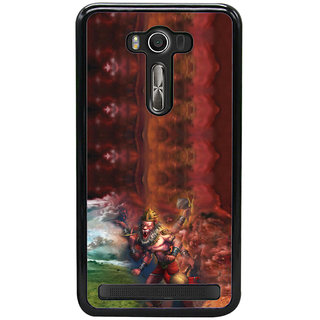 ifasho Lord Narasingha  Back Case Cover for Asus Zenfone2 Laser ZE 550KL