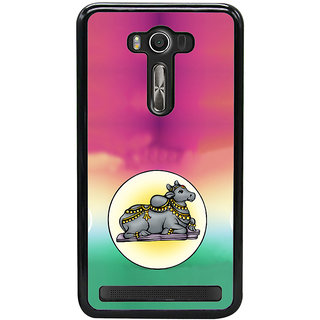 ifasho Nandi lord siva Back Case Cover for Asus Zenfone2 Laser ZE 550KL