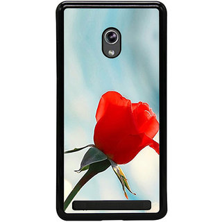 ifasho Red Rose Back Case Cover for Asus Zenfone 5