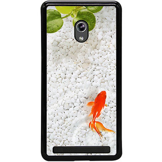 ifasho Fish in water with stone acquarium Back Case Cover for Asus Zenfone 5
