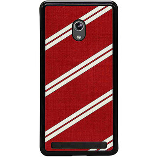 ifasho Design lines pattern Back Case Cover for Asus Zenfone 6