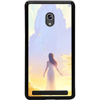 ifasho Girl painting Back Case Cover for Asus Zenfone 6