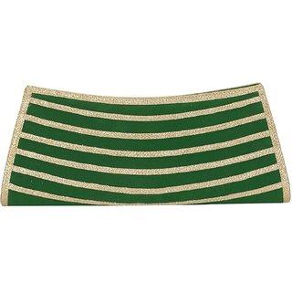 Prodigy Green Velvet Clutch Design 3