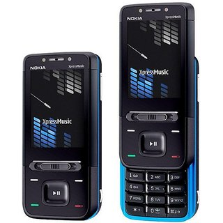 Nokia 5610 Black Blue Xpressmusic Full Housing Body Panel