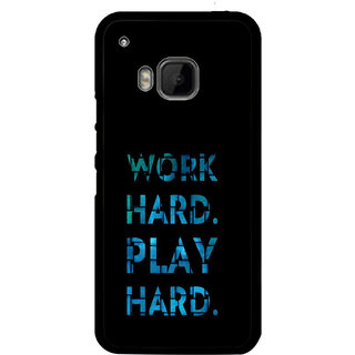 ifasho Carry On Quote Back Case Cover for HTC One M9