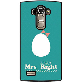 ifasho Always right quote Back Case Cover for LG G4