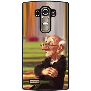 ifasho Old man playing chess animated design Back Case Cover for LG G4