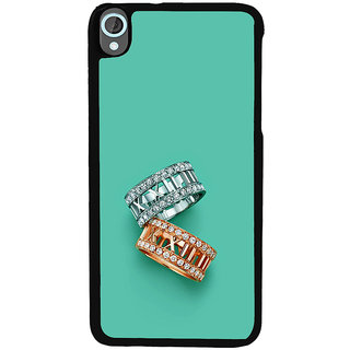 ifasho Engagement Ring Back Case Cover for HTC Desire 820