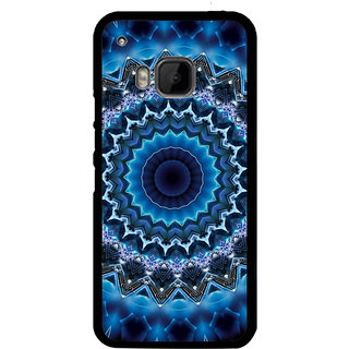ifasho Animated Pattern design colorful flower in royal style Back Case Cover for HTC One M9
