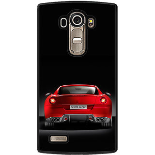 ifasho Red Stylish Car from back side Back Case Cover for LG G4