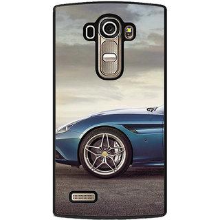 ifasho Stylish long Car wheel Back Case Cover for LG G4