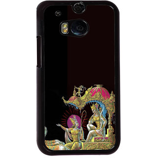 ifasho krishna driving Chariot of Arjun Back Case Cover for HTC One M8