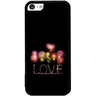 ifasho Love Back Case Cover for Apple iPhone 5C