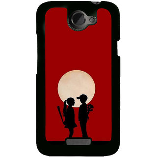 ifasho Boy and girl love Back Case Cover for HTC One X