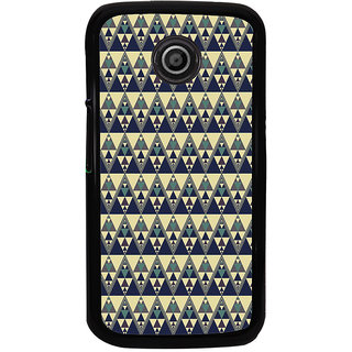 ifasho Animated Pattern colrful tribal design Back Case Cover for Moto E