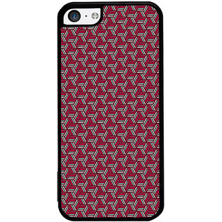 ifasho Design lines pattern Back Case Cover for Apple iPhone 5C