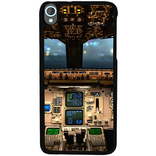 ifasho Plane cavin and machines Back Case Cover for HTC Desire 820