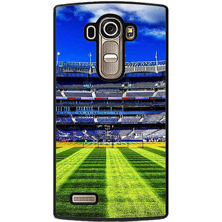 ifasho Football stadium field Baseball field Back Case Cover for LG G4