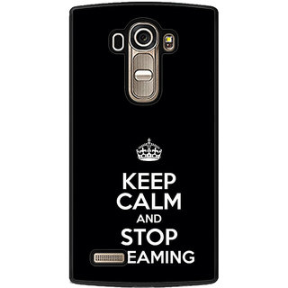 ifasho Nice Quote On Keep Calm Back Case Cover for LG G4