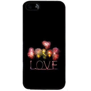 ifasho Love Back Case Cover for Apple iPhone 5