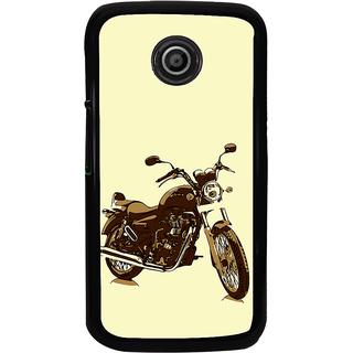 ifasho Royal Bike Back Case Cover for Moto E2