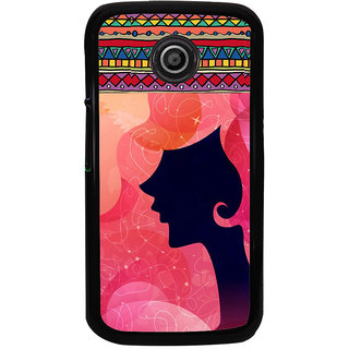 ifasho fashion Girls Back Case Cover for Moto E