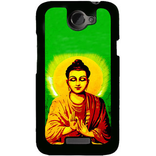ifasho Lord Budha Back Case Cover for HTC One X