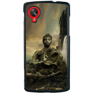 ifasho Lord Budha Back Case Cover for LG Google Nexus 5
