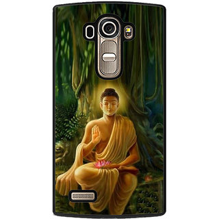 ifasho Lord Budha Back Case Cover for LG G4