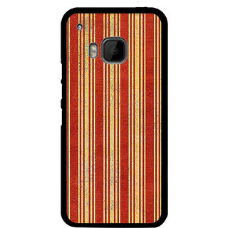 ifasho Design lines pattern Back Case Cover for HTC One M9