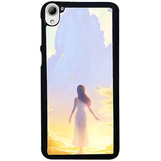 ifasho Girl painting Back Case Cover for HTC Desire 826