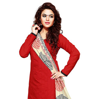 SAREEMALL Unstitched Suit With Dupatta