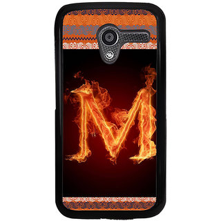 ifasho alphabet name series M Back Case Cover for Moto X