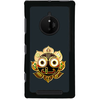 ifasho Jagannath Back Case Cover for Nokia 830