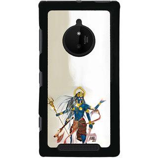ifasho goddess  maa Kali Ugra tara Back Case Cover for Nokia 830