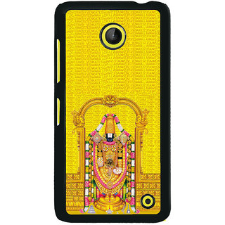 ifasho Tirupati Balaji Back Case Cover for Nokia Lumia 630