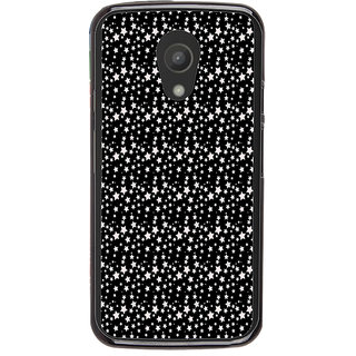 ifasho Modern Art Design animated cloth Pattern of small star Back Case Cover for Moto G2