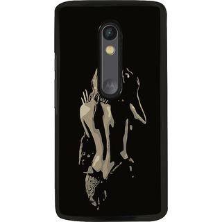ifasho Chocolate Girl Back Case Cover for Moto G3