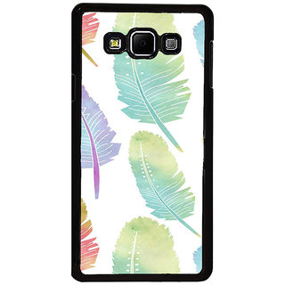 ifasho Animated  Feather Back Case Cover for Samsung Galaxy A8