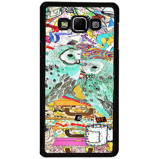 ifasho Girls and owl Back Case Cover for Samsung Galaxy A8