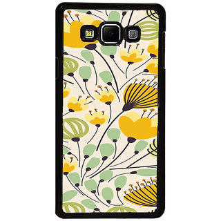 ifasho Animated Pattern colrful flower with leaves Back Case Cover for Samsung Galaxy A8