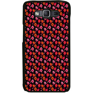 ifasho Animated Pattern design many small flowers  Back Case Cover for Samsung Galaxy E5
