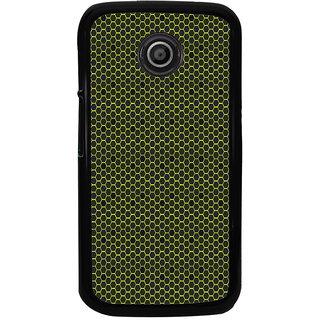 ifasho Modern Art Design Pattern honey Bee case style Back Case Cover for Moto E