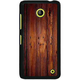 ifasho Animated Royal Pattern with Wooden back ground Back Case Cover for Nokia Lumia 630