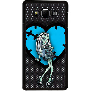 ifasho Crazy Girl Back Case Cover for Samsung Galaxy A8