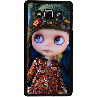 ifasho Cute Girl Back Case Cover for Samsung Galaxy A8