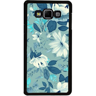 ifasho Modern Art Design animated cloth Pattern of flower Back Case Cover for Samsung Galaxy A8