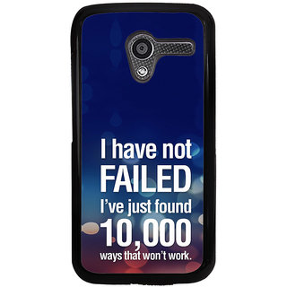 ifasho quotes on success Back Case Cover for Moto X