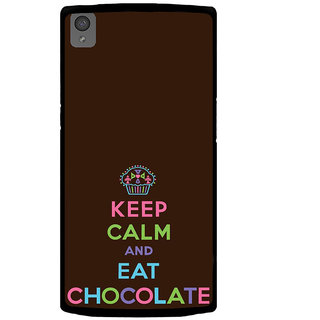 ifasho Nice Quote On Keep Calm Back Case Cover for One Plus X