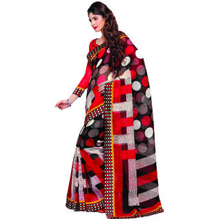 Miraan Linen Cotton with Attach Zari Border Saree For Women SRH764